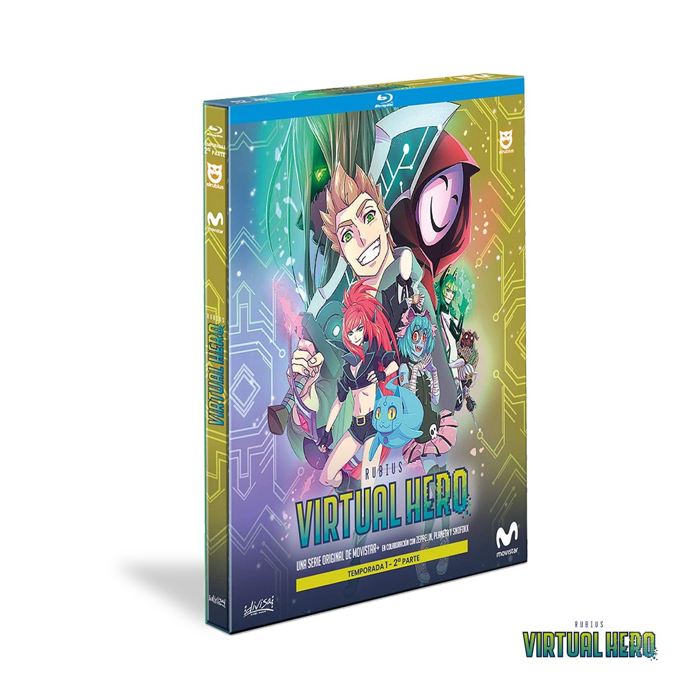 Blu-ray Temporada 1 Virtual Hero - Parte 2