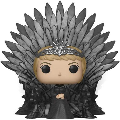 Figura Cersei Lannister Sentada En Trono 15cm
