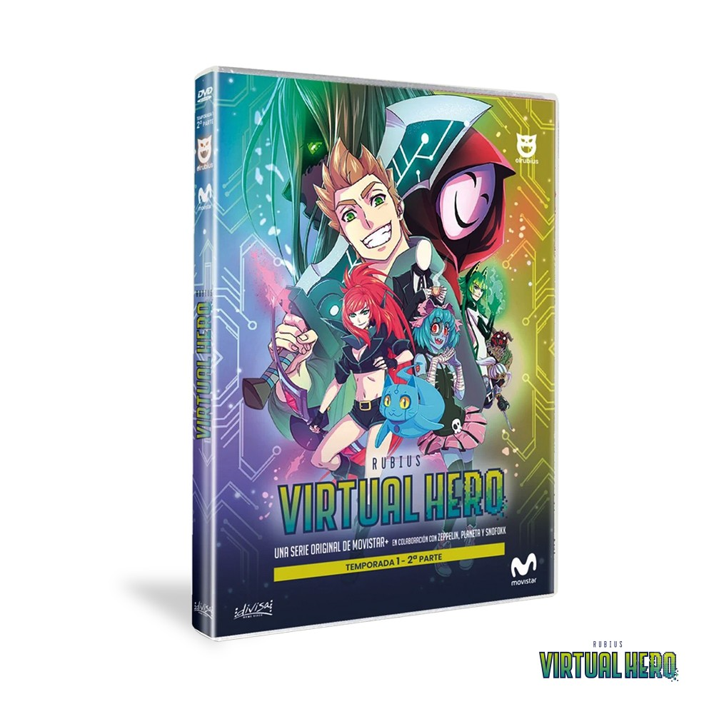 Dvd Temporada 1 Virtual Hero - Parte 2