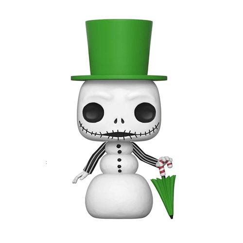 Figura Jack Skeleton Muñeco De Nieve 9cm
