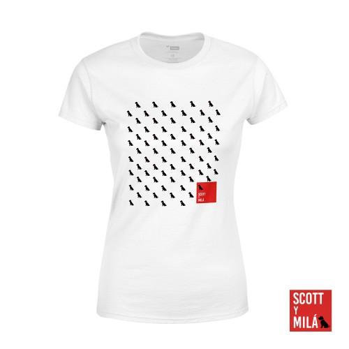 Camiseta Mujer Perritos