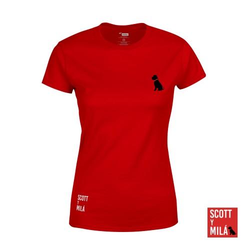 Camiseta Mujer Mini Scott