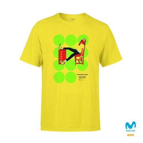 Camiseta Unisex Amarilla No Hago Milagros 2