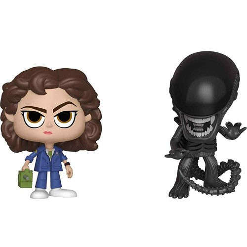 Figuras 2-pack Xenomorfo Y Ellen Ripley 10cm