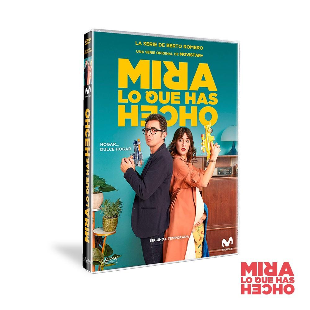 Dvd Temporada 2 Mira Lo Que Has Hecho