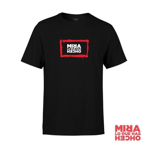 Camiseta Mira Lo Que Has Hecho Unisex Negra