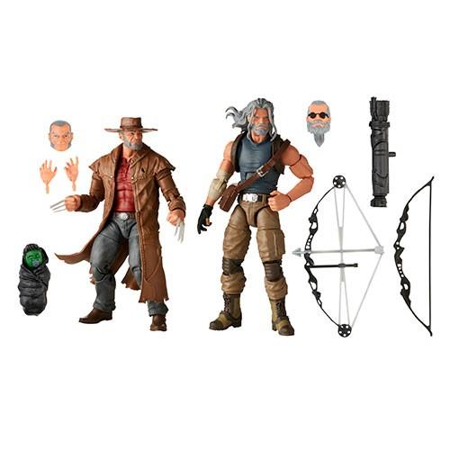 Pack Figuras Acción Logan Y Hawkeye 14 Cm