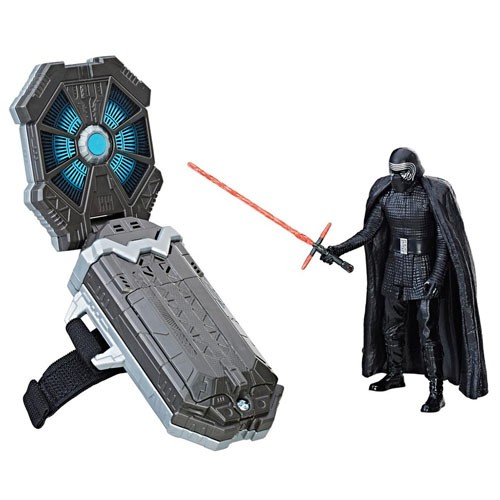 Kit Force Link + Figura Kylo Ren 9cm