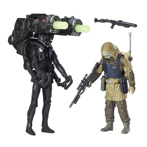 Figuras De Acción Pack De Dos Rogue One 9cm