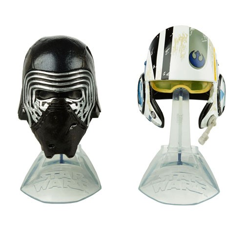 Cascos Episodio 7 Pack 2 Piezas Star Wars 5cm