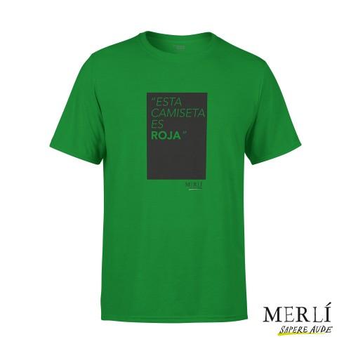 Camiseta Merlí Unisex Esta Camiseta Es Roja