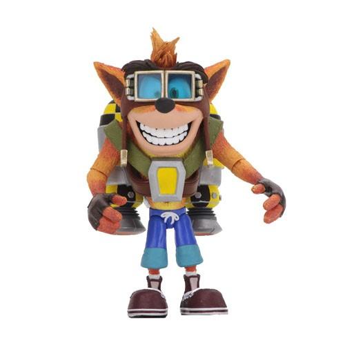 Figura Crash Bandicoot Con Jetpack 14cm
