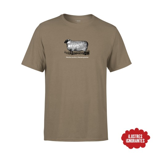 """Camiseta """"oveja"""" Javier Coronas"""