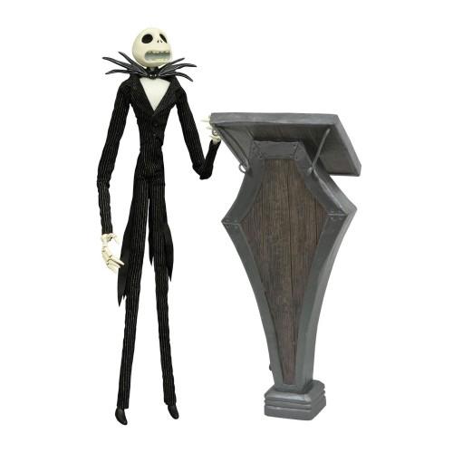 Figura De Acción Jack Skeleton Con Atril 36cm