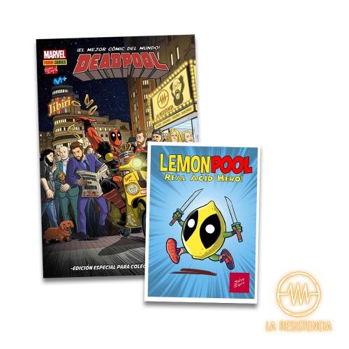 Cómic Dead Pool edición Especial portada La Resistencia+lámina (LemonPool)