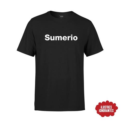 "Camiseta ""sumerio"" Javier Cansado"