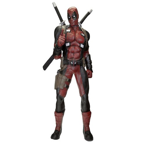 Estatua Deadpool 1:1 185cm