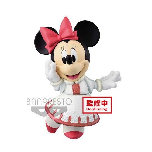 Figura Minnie Vestido Blanco 10cm