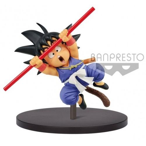 Estatua Son Goku Con Bastón 20cm