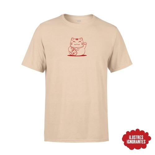 """Camiseta """"maneki-neko"""""""