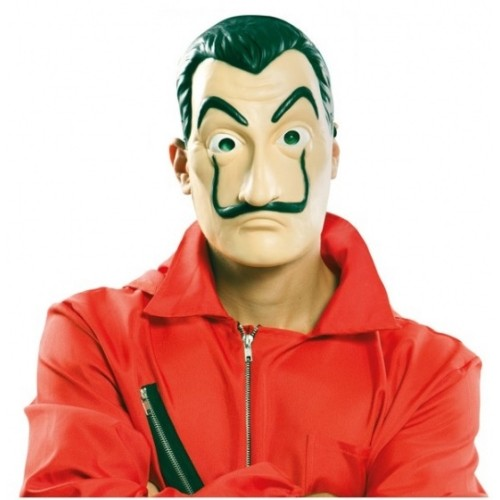 Máscara De Dalí De Latex