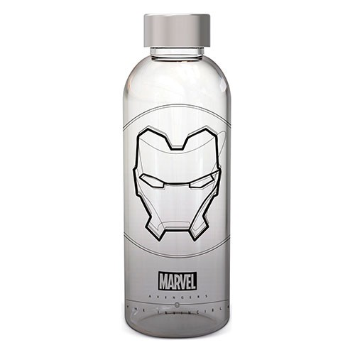 Botella De Cristal Iron Man 1030 Ml.