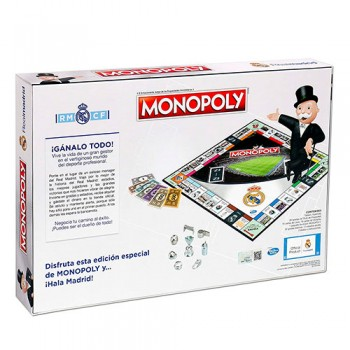 Juego De Mesa Monopoly Real Madrid