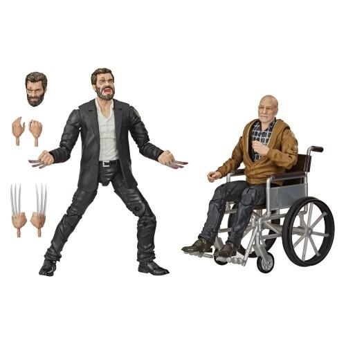 Figuras Articuladas Logan Y Profesor Xavier 15cm