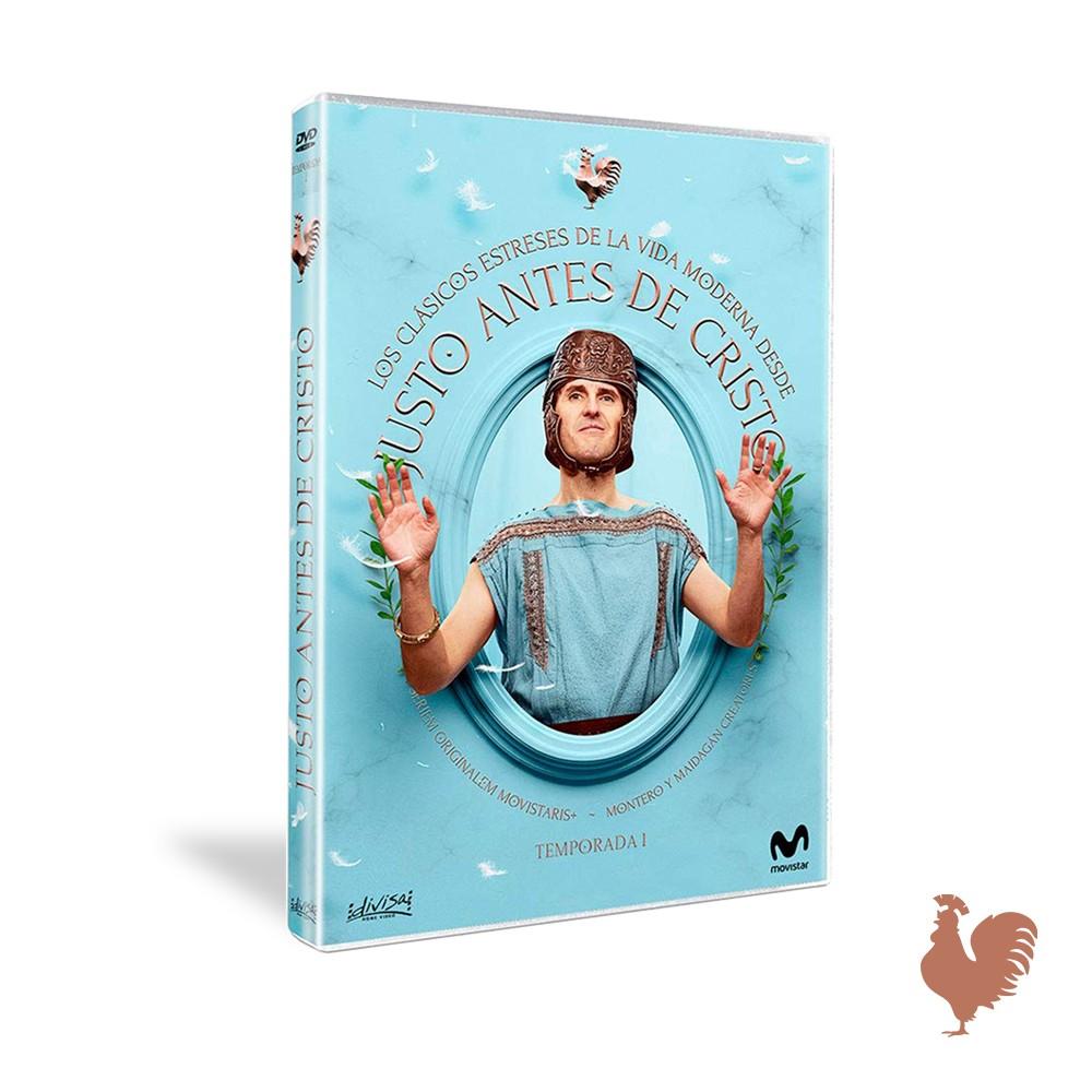 Dvd Temporada 1 Justo Antes De Cristo