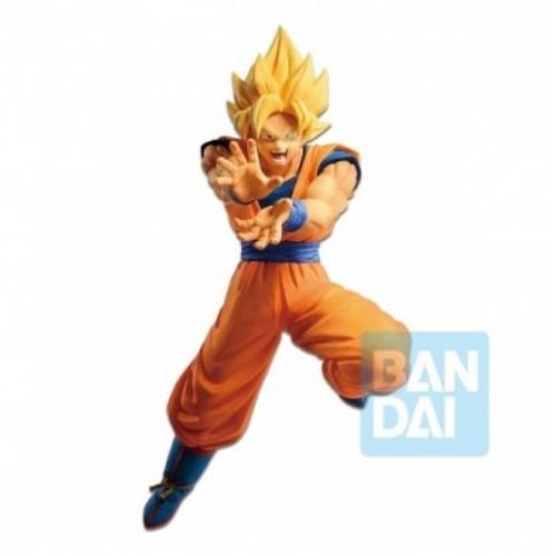 Figura Super Saiyan Goku Ataque 16cm