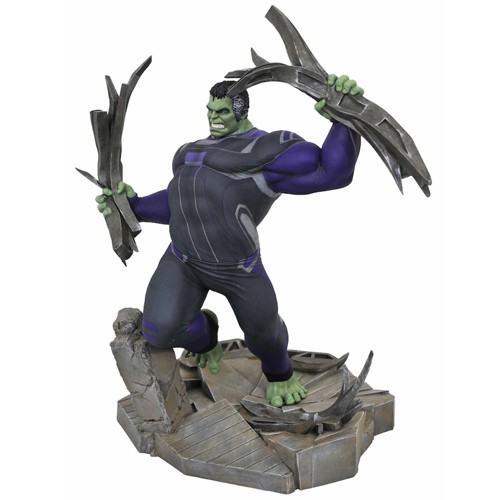 Estatua Chándal Hulk Diorama 23cm