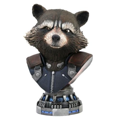Busto Escala 1/2 Rocket Raccoon 20,3cm