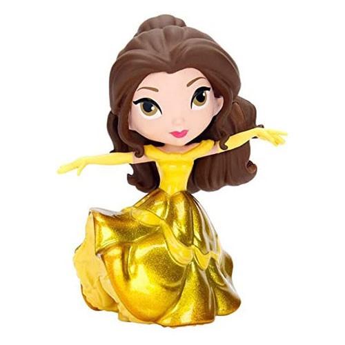 Figura Bella Vestido Dorado Metal 10cm