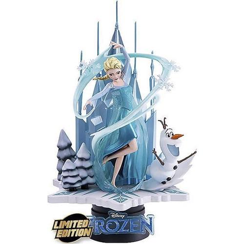 Estatua Elsa & Olaf Exclusiva Diorama 18cm