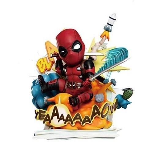 Estatua Deadpool Cut Off! The Fourth Wall! 28cm