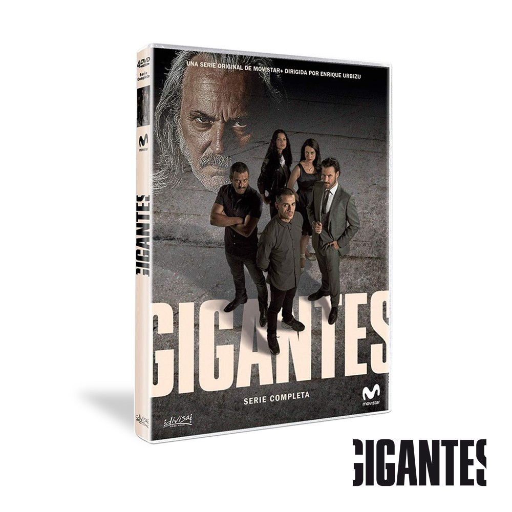Dvd Serie Completa Gigantes