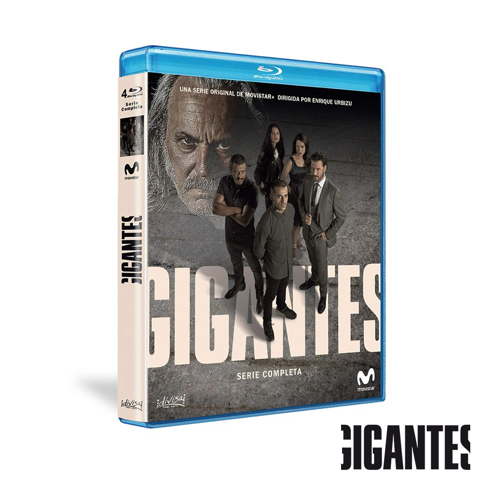 Blu-ray Serie Completa Gigantes