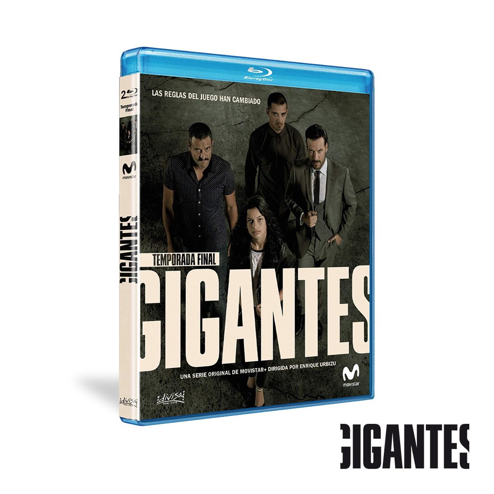 Blu-ray Temporada 2 Gigantes