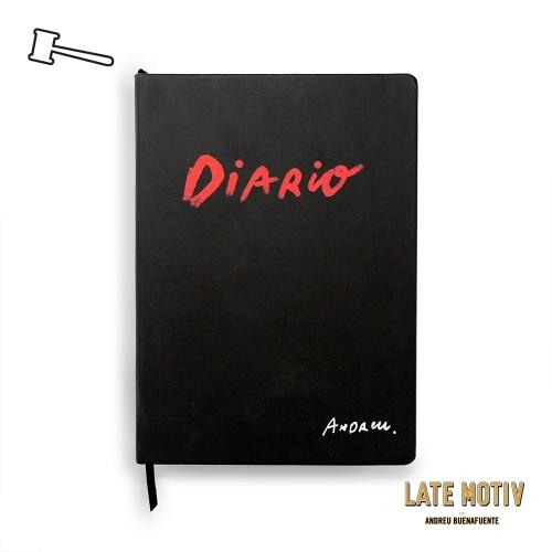 Cuaderno Diario Andreu Buenafuente Late Motiv
