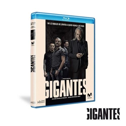 Blu-ray Temporada 1 Gigantes