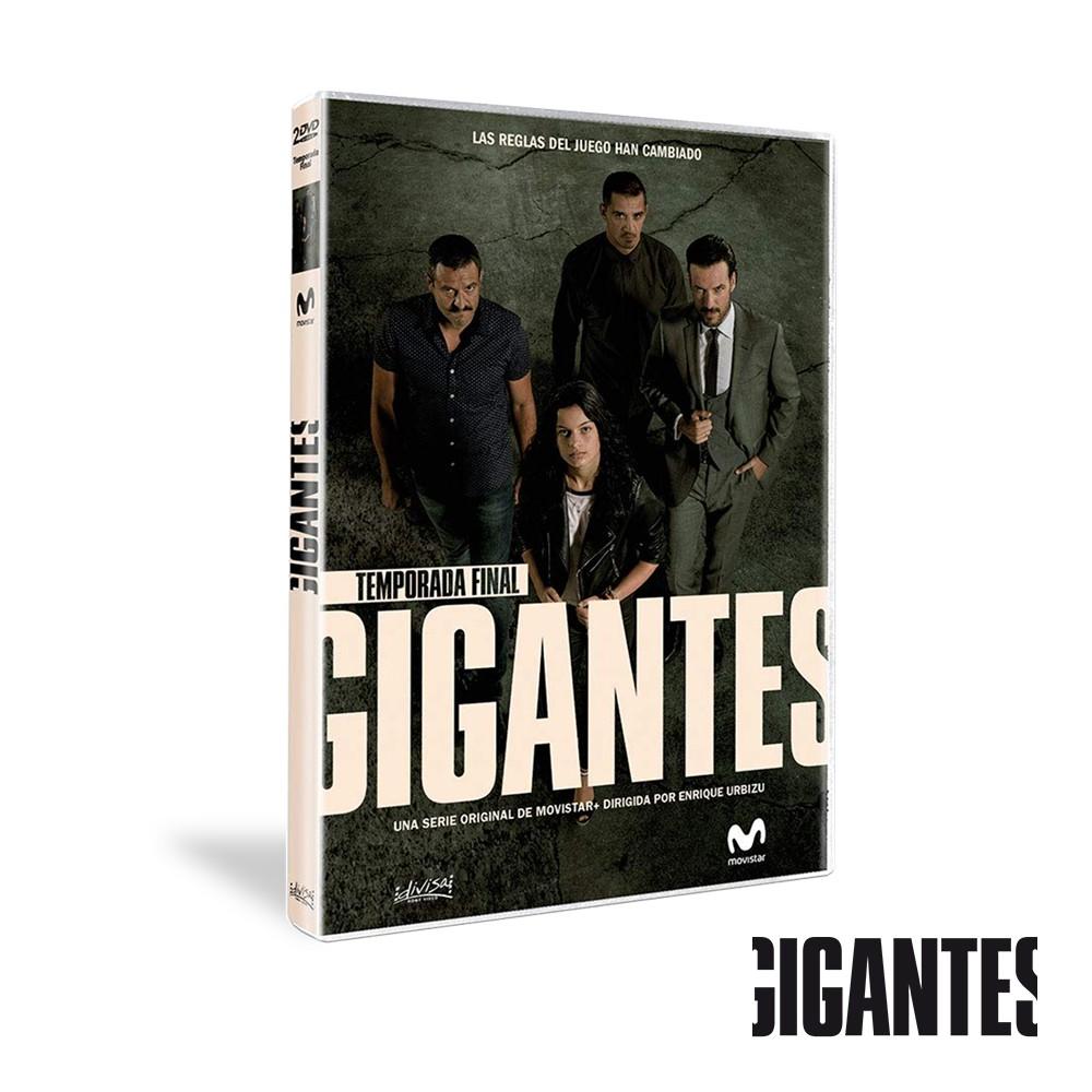 Dvd Temporada 2 Gigantes