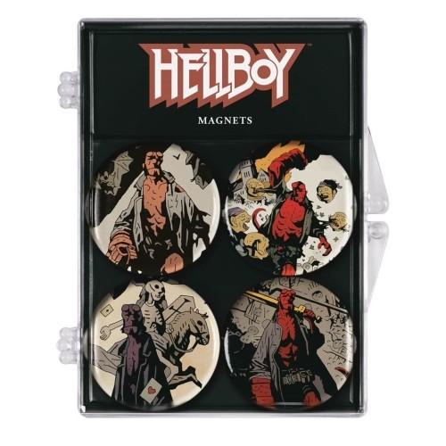 Imánes 4-pack Hellboy