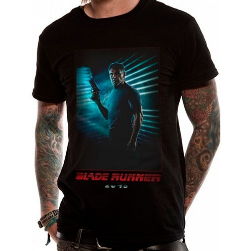 Camiseta Rick Deckard Negra