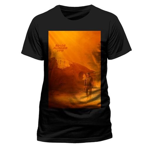 Camiseta Poster Blade Runner 2049 Negra