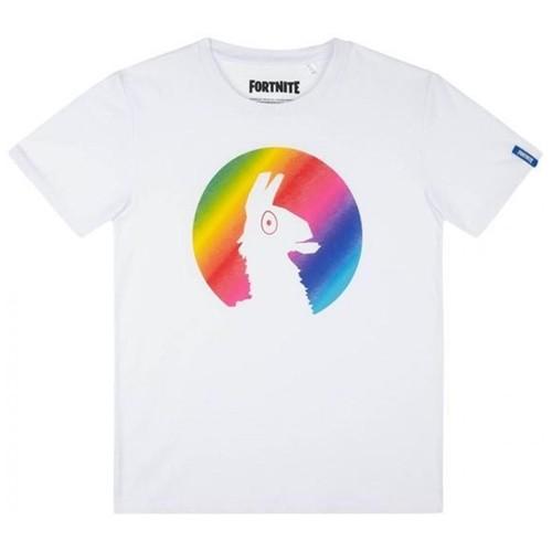 Camiseta Niño Loot Llama Blanca