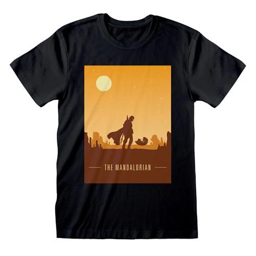 Camiseta Póster Retro Mandaloriano