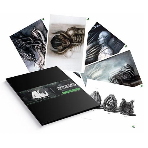 Set Litografia Alien 35x27 Cm