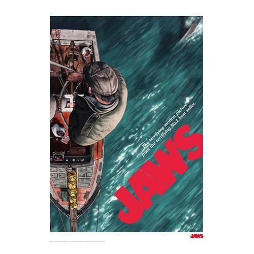 Lam Ilustrada Tiburon Numero 2 41x29 Cm