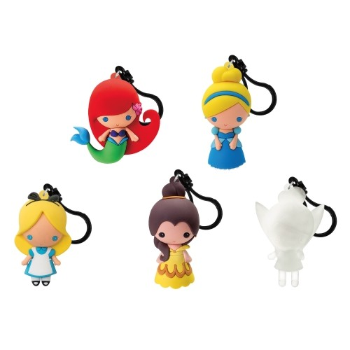 Set 5 Llaveros Chicas Disney Sdcc 2016