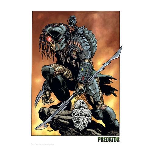 Lámina Ilustrada Predator 41x29cm